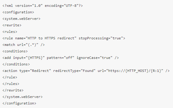 iis7如何设置http跳转到https